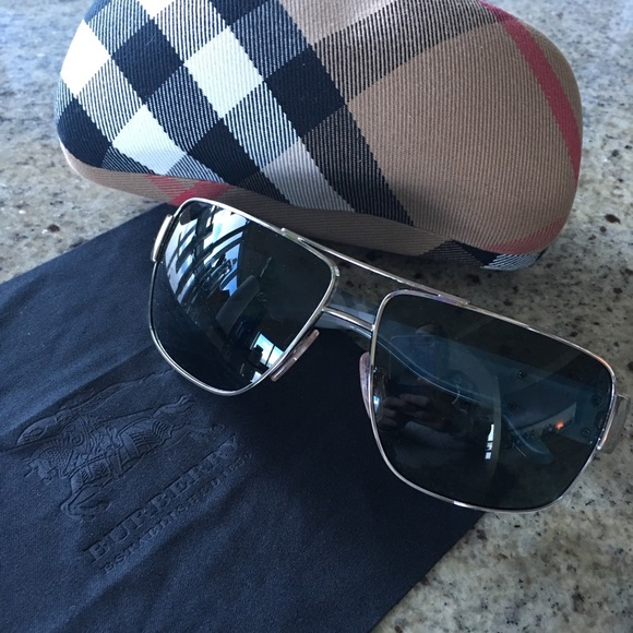 64a66bdfa5 Burberry Other - Men s Burberry glasses with case and cloth